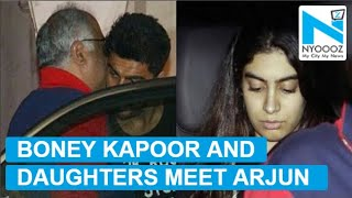 Janhvi Kapoor Visits Arjun Kapoor With Boney And Khushi   NYOOOZ TV
