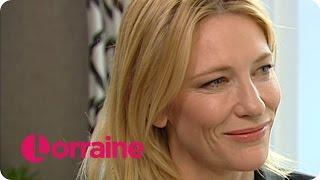 getlinkyoutube.com-Cate Blanchett Talks About Lesbian Romance Film Carol | Lorraine