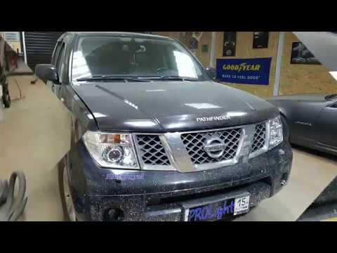 Nissan Pathfinder. Большому автомобилю - большой свет. Hella 3R + LX FOG (линзы в ПТФ)