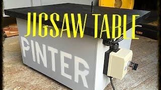 getlinkyoutube.com-Making a Jigsaw table