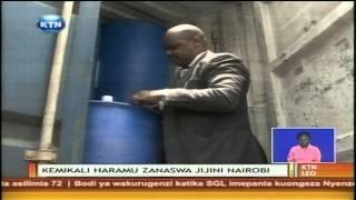 Mitungi 640 ya kemikali aina ya methanol imepatikana katika eneo la industrial area jijini Nairobi