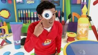 getlinkyoutube.com-Swollen Eye - Art Attack Sneak Peek - Disney Channel Asia