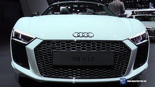 getlinkyoutube.com-2017 Audi R8 V10 Plus - Exterior and Interior Walkaround - 2016 LA Auto Show