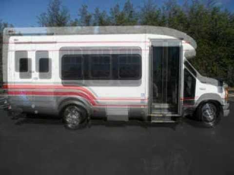 Used Bus For Sale - 2003 Ford Startrans E450 16 Passenger Wheelchair Shuttle Bus For Sale