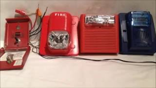 getlinkyoutube.com-Tutorial: How To Wire ONE Pull Station To THREE Fire Alarms (Requested)