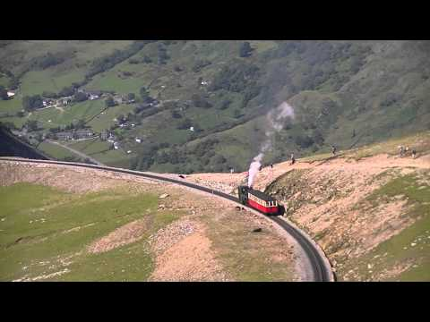 Trains on the Snowdon Mountain Railway - 24th July 2011
