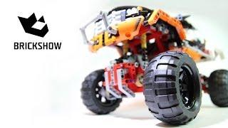getlinkyoutube.com-Lego Technic 9398 4x4 Crawler Build & Review