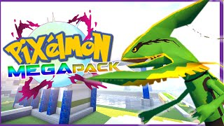 MEGA EVOLUTION IN PIXELMON ► MINECRAFT PIXELMON 5.0.0 MEGA PACK REVIEW!