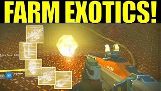 getlinkyoutube.com-Destiny: HOW TO FARM EXOTIC ENGRAMS! (10 Exotics/hour!) | Taken King Three of Coins