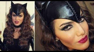 getlinkyoutube.com-Halloween Makeup: Cat Woman! por Camila Coelho