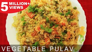 getlinkyoutube.com-Vegetable Pulao   Quick & Easy To Make Main Course Recipe   Kanak's Kitchen