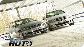getlinkyoutube.com-Mercedes C250 CDI vs. BMW 330d - Abenteuer Auto