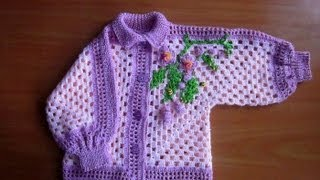 getlinkyoutube.com-crochet sweater for kids