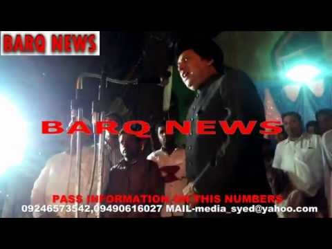 BARQ NEWS..SPEECH OF ATHER FAROOQUI AT PATEL NAGER AMBERPET