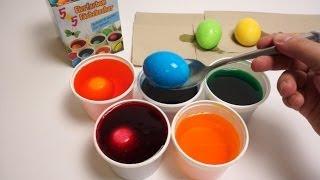 getlinkyoutube.com-DIY Đồ chơi trẻ em, Bộ nhuộm màu trứng Phục Sinh