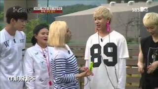 getlinkyoutube.com-miss A's Min and GOT7's BamBam moments! (fanboy)