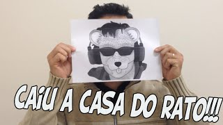 EU SOU O RATO BORRACHUDO VERDADEIRO!!! - CAIU MINHA MASCARA!!!!