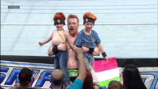 getlinkyoutube.com-Sheamus greets young members of the WWE Universe: April 19, 2013