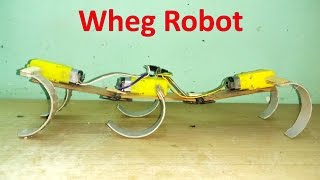 getlinkyoutube.com-How to make a six legged wheg all terrain robot at home