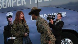 getlinkyoutube.com-Teachers Meet Drill Instructor - Civilian Experience the United States Marine Corps Recruit Training