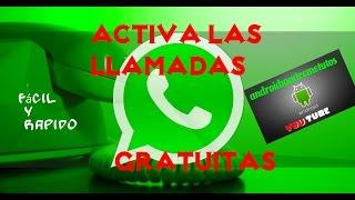 getlinkyoutube.com-ACTIVA LLAMADAS DE WHATSAPP FACIL Y RAPIDO