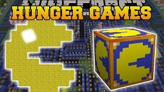 getlinkyoutube.com-Minecraft: PACMAN HUNGER GAMES - Lucky Block Mod - Modded Mini-Game