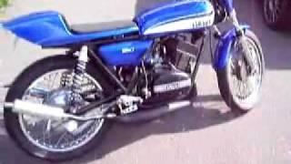 getlinkyoutube.com-Yamaha rd350 café racer