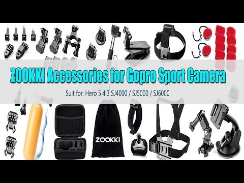 UNBOXING: Zookki Outdoor Sports Accessories Kit for Action Camera