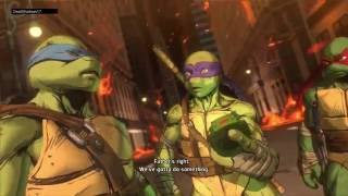 getlinkyoutube.com-Teenage Mutant Ninja Turtles: Mutants in Manhattan PS4 Playthrough Part 5 (END)