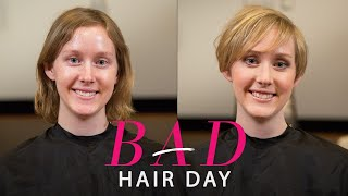 getlinkyoutube.com-How the Perfect Haircut Can Help You Tackle Your Goals—Glamour's Bad Hair Day