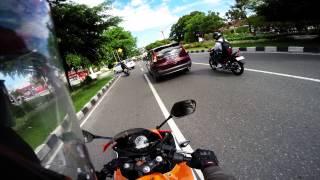 getlinkyoutube.com-[4K] Ride to Home - CBR 150R 2015 K45