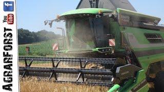 getlinkyoutube.com-NEW Deutz C7206 TSB in Action! || Getreidernte 2016