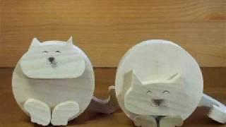 getlinkyoutube.com-ちょいデブ丸猫 It is a fatty cat toy a little