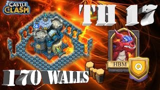 getlinkyoutube.com-Castle Clash Base Design: Town Hall 17 - Baby Molt? | HBM Q