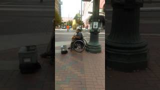 getlinkyoutube.com-Blues Saxophone Player From New ORLEANS Touching Souls