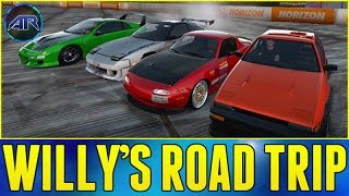 Forza Horizon 2 : Top Gear Challenge - WILLY'S ROAD TRIP!!!