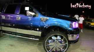 "getlinkyoutube.com-2008 Chameleon Ford F-150 Truck LIFTED on 32"" Starr Wheels - 1080p HD"