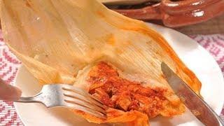 Tamales rojos de pierna - Red Leg Tamales