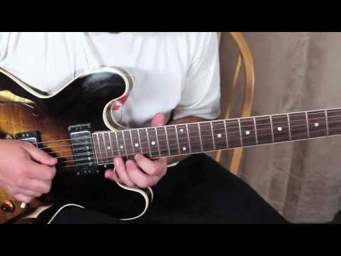 Blues Rock Guitar Solo Lessons - Inspired by Jerry Garcia and Grateful Dead