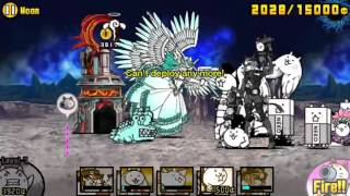 getlinkyoutube.com-[The Battle Cats] Chapter 5 Moon. Into the Future Final Boss.