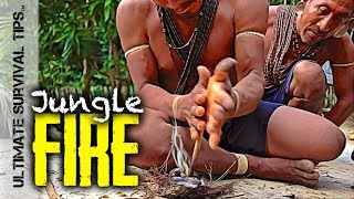 E2: JUNGLE BUSHCRAFT @ Waco Primitive BASECAMP #1 + 7 Jungle Survival Skills