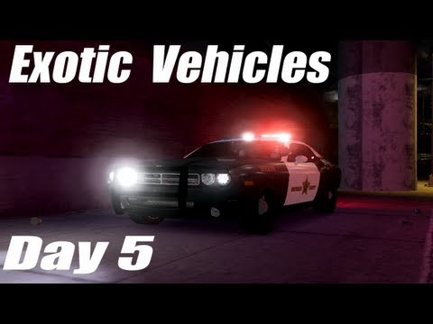GTA IV: LCPDFR 0.95 RC2 Exotic Vehicles Day 5- Dodge Challenger