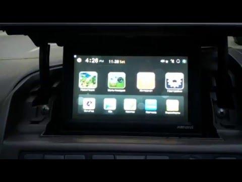 Nissan Bassara/Presage 31-русификация меню, установка 4 навигационных систем, USB, пробки,
