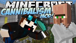 getlinkyoutube.com-Minecraft   CANNIBALISM MOD! (Eating Dr Trayaurus!)   Mod Showcase