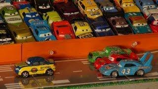 getlinkyoutube.com-Pixar Cars, The Great Race , My Favorite Scene, Lightning McQueen, Chick Hicks, and The King
