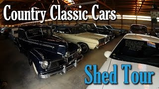 getlinkyoutube.com-Shed Tour - Country Classic Cars - Hot Rods, Muscle Cars, & Classics