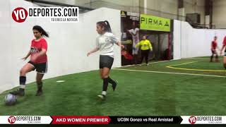 UCSN Gonzo vs. Real FC AKD Women Premier Academy Soccer League