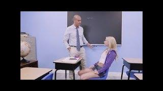 Hot School Girl With Teacher width=