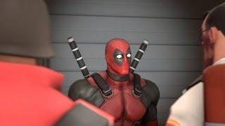 getlinkyoutube.com-Deadpool joins the red team - SFM