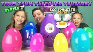 getlinkyoutube.com-Tsum Tsum Takeover Thursday - Series 2 Egg Roulette Style